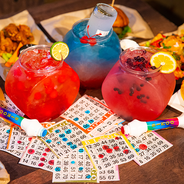 Fishbowls and bingo